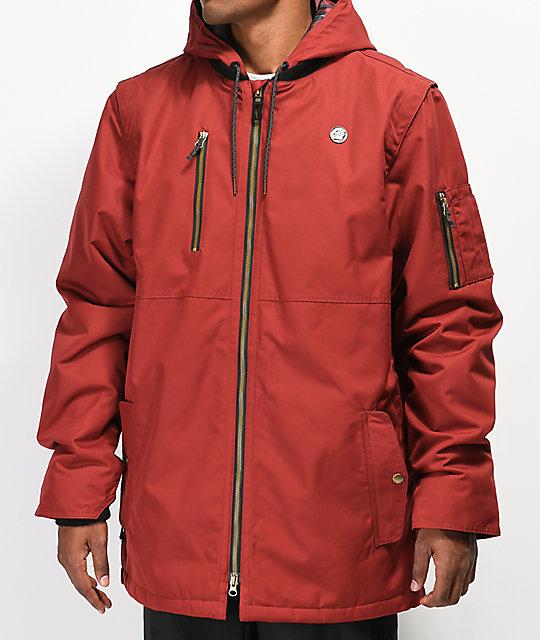 686 Riot Red 10K Snowboard Jacket