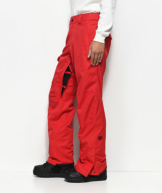 686 Rover Red 10K Snowboard Pants