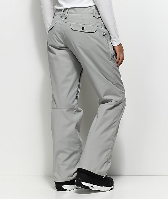 686 Standard Light Grey 5K Snowboard Pants