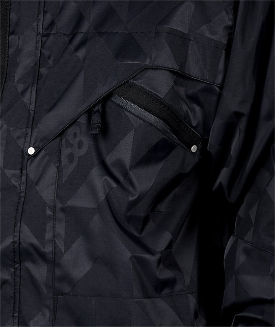 686 Syndicate Black Snowboard Jacket
