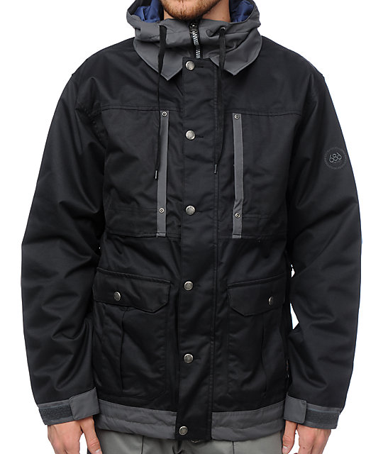 686 Times Dickies Industrial Black 15K Snowboard Jacket