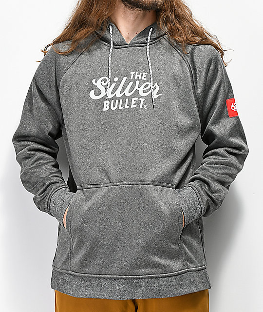 686 x Coors Light Knockout Grey Tech Fleece Hoodie