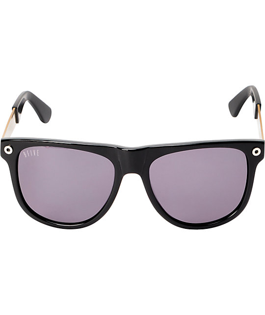 5751539cac ... 9Five KLS 2 Black   Gold Sunglasses