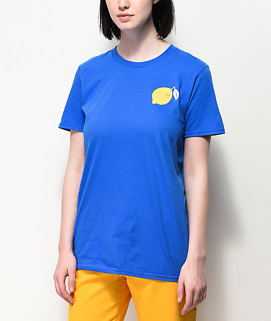 A-Lab Always Sour Lemon Blue T-Shirt