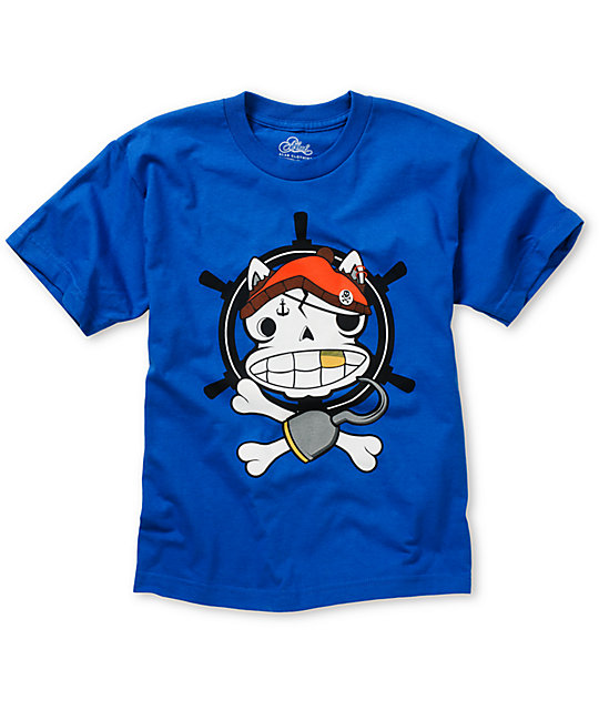 A-Lab Boys Powder Monkey Blue T-Shirt