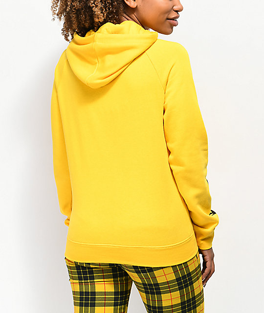 A-Lab Brealynna Alien Sleeve Yellow Hoodie