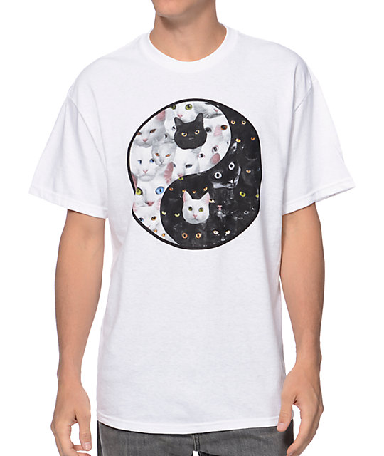 A-Lab Cat Yang White T-Shirt