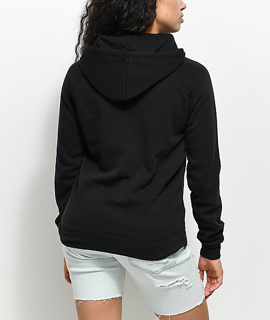 A-Lab Charleno Alien Space Black Hoodie