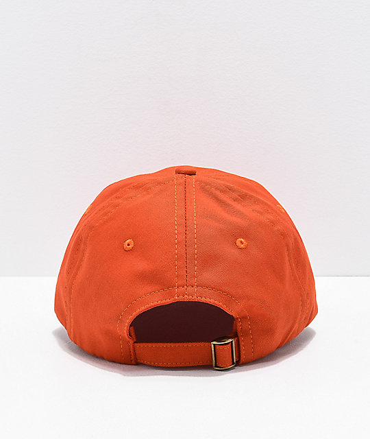 A-Lab Crazy Orange Strapback Hat