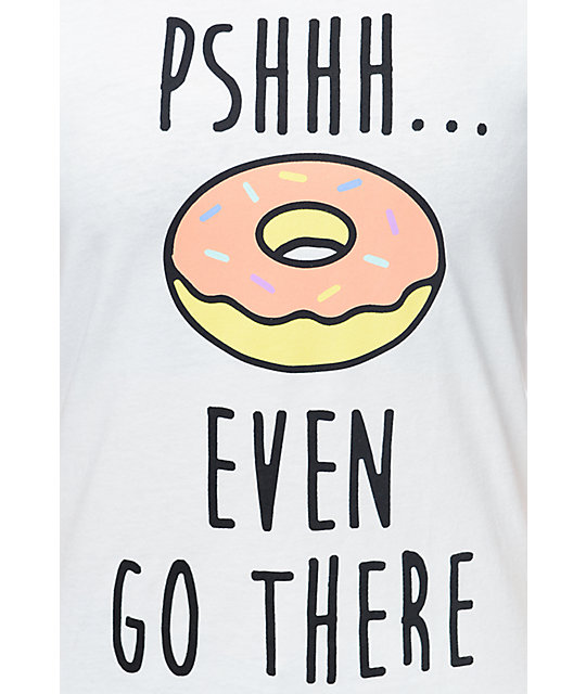 A-Lab Donut Go There White T-Shirt