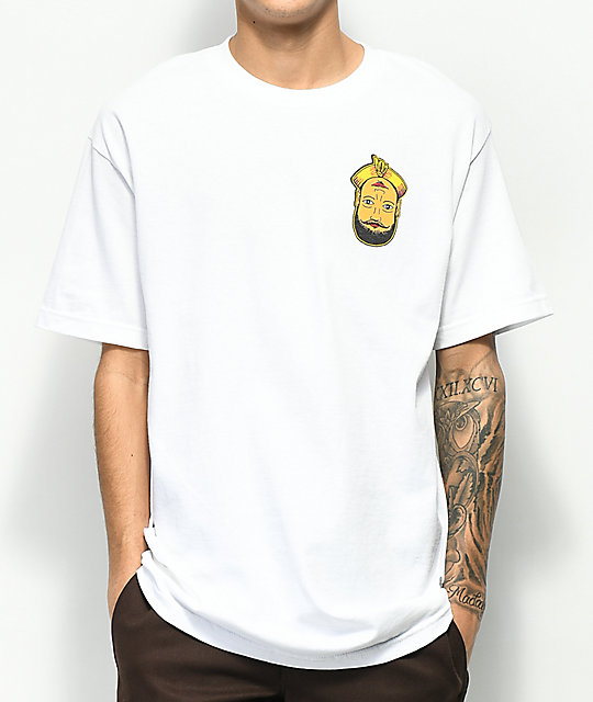 A-Lab E Village Magic Man camiseta blanca