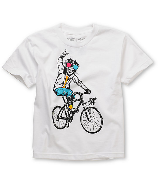 A-Lab Freestylin Boys White T-Shirt