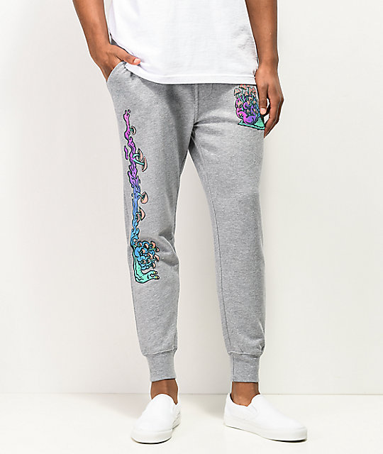 A-Lab Hippy Snail Grey Jogger Sweatpants