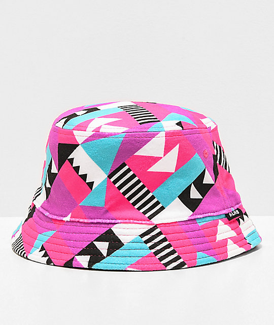 A-Lab Indie Geo Reversible Bucket Hat