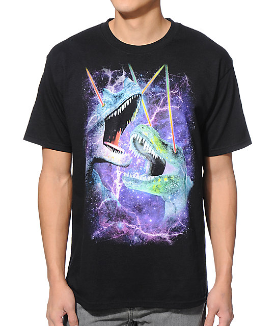 A-Lab Jurassic Galaxy Black T-Shirt