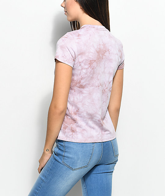 A-Lab Kito Cactus Tie Dye Pocket T-Shirt