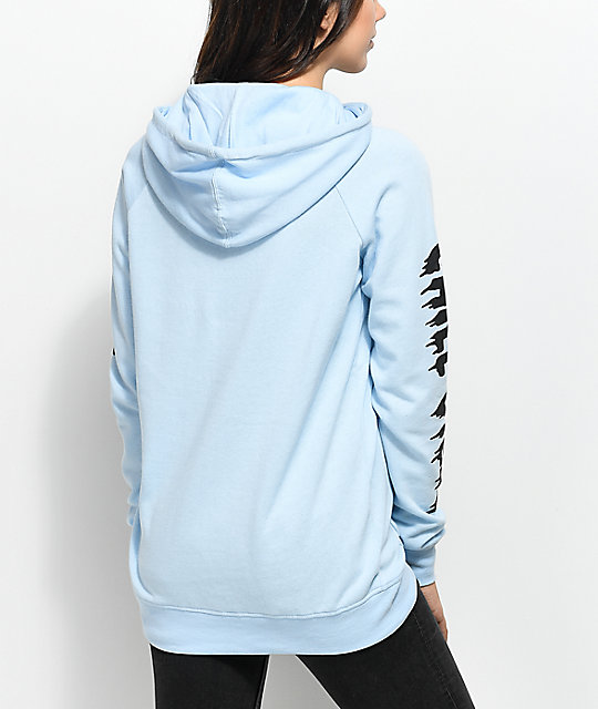 A-Lab Larissani Chill Vibes Light Blue Hoodie
