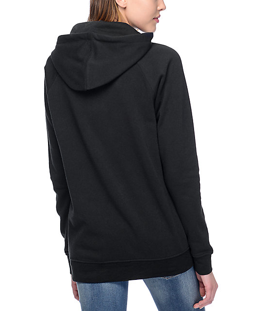 A-Lab Larissani Double Alien Black Womens Hoodie