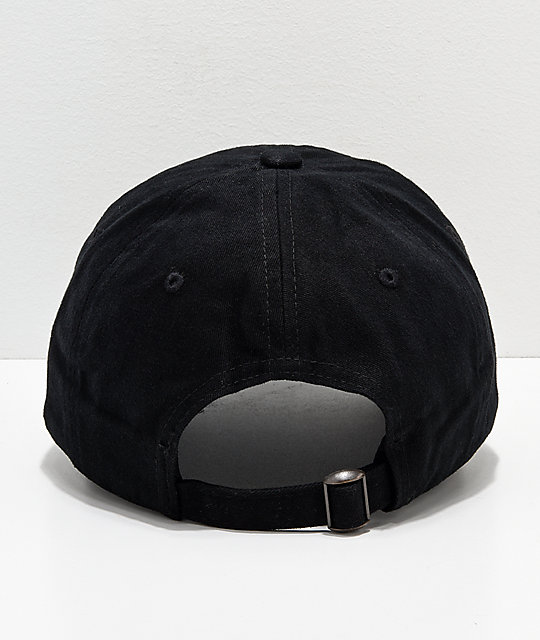 ... A-Lab Loosies Black Strapback Hat c3c4df45cc6