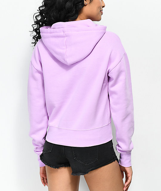 A-Lab Lucia Come Thru Glitter Orchid Hoodie