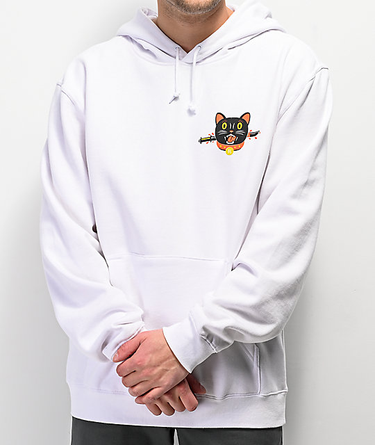 A-Lab Out Of Luck White Hoodie
