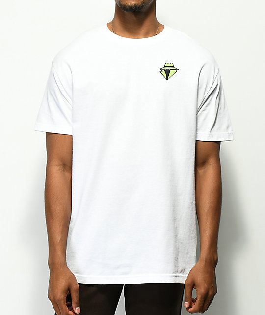 A-Lab Peace Dealer White T-Shirt