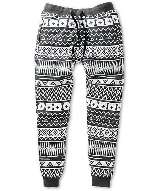 A-Lab Pillage Tribal Jogger Pants