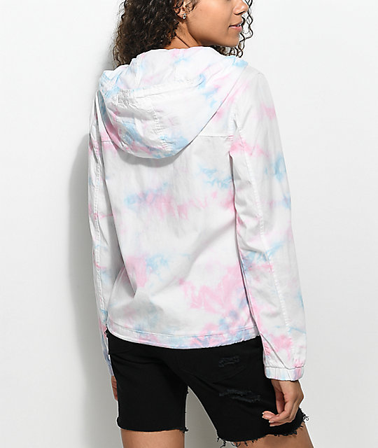 A-Lab Pippa Unicorn Tie Dye Full Zip Jacket