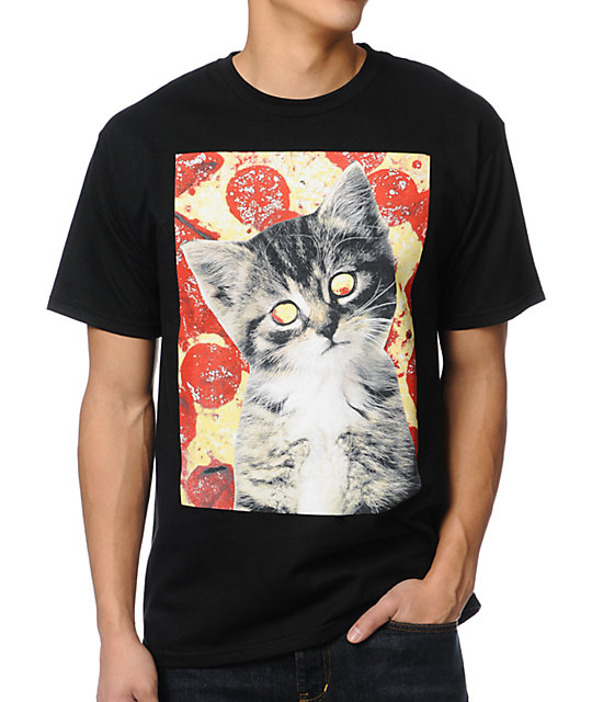 A-Lab Pizzas Best Friend Black T-Shirt
