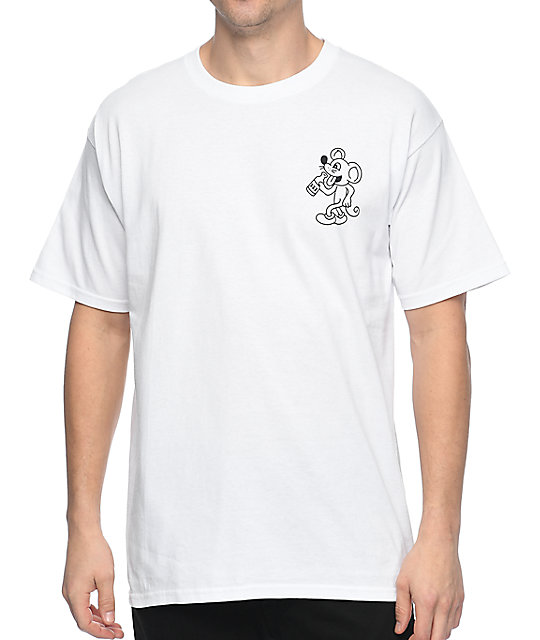 A-Lab Savage White T-Shirt