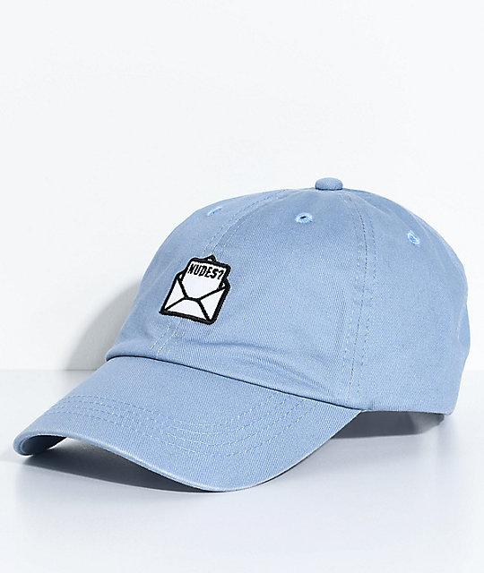 c6b430c1 A-Lab Send Light Blue Strapback Hat | Zumiez
