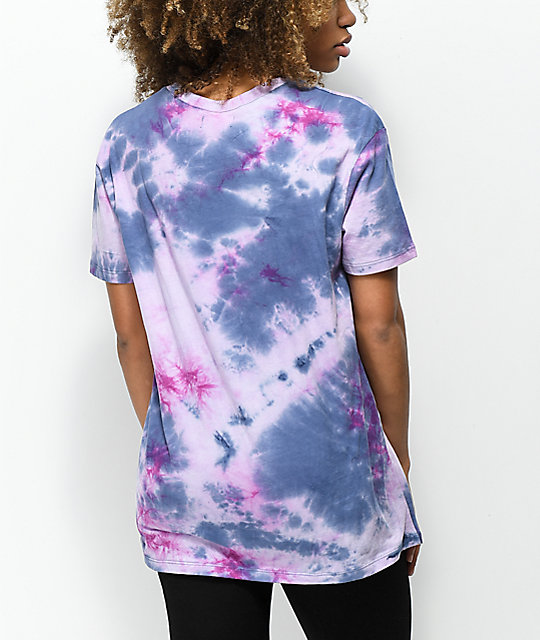 A-Lab Shannon Forever Blue & Pink Tie Dye T-Shirt