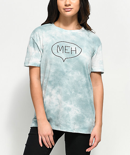 74561fef3 A-Lab Shannon Meh Blue Tie Dye T-Shirt | Zumiez