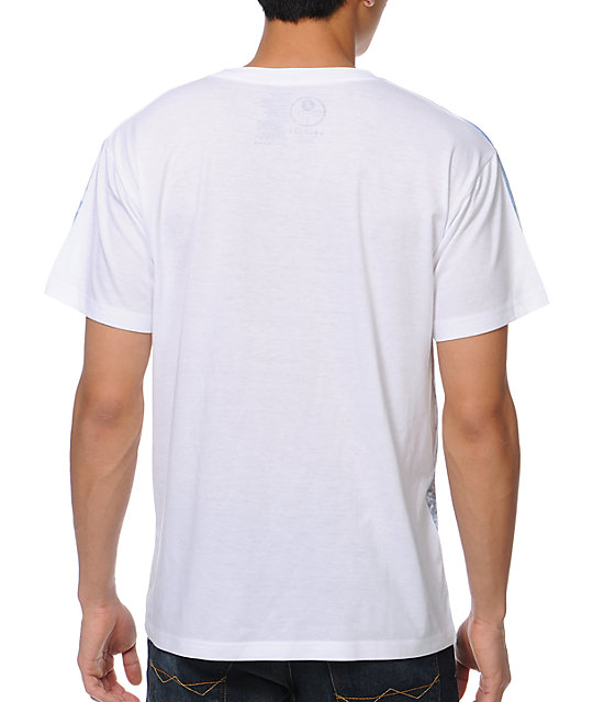 A-Lab Shark Sneak White T-Shirt