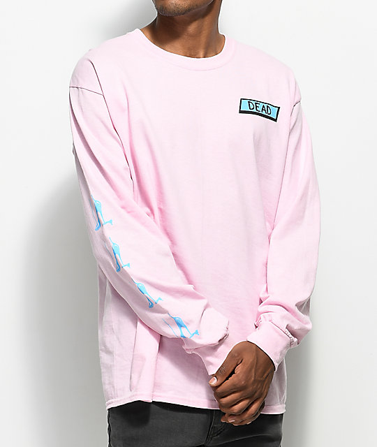 A-Lab Stiletto Pink Long Sleeve T-Shirt