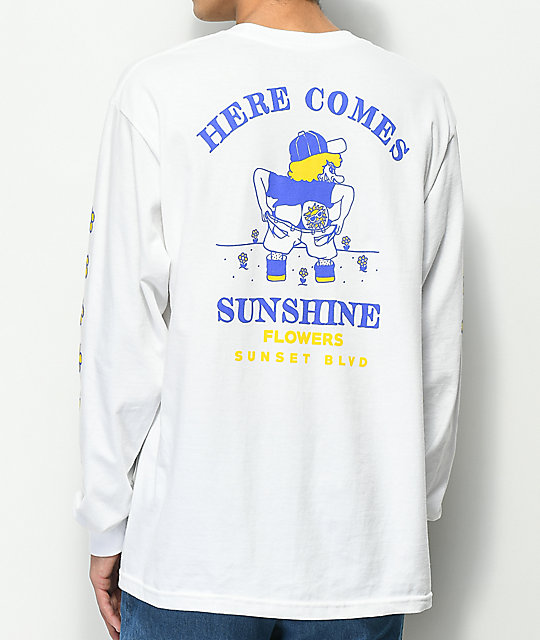 A-Lab Sunshine camiseta blanca de manga larga