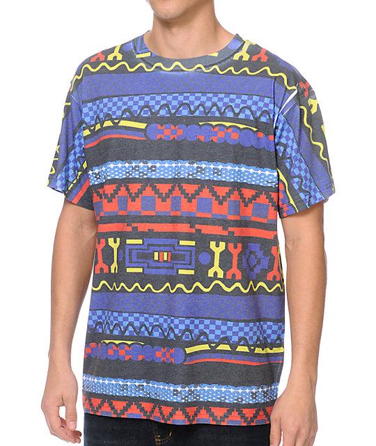 e962454e A-Lab Swagter Tribal Print T-Shirt | Zumiez