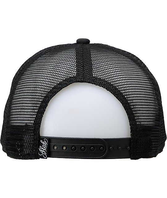A-Lab Synergy Boss Black & White Trucker Hat