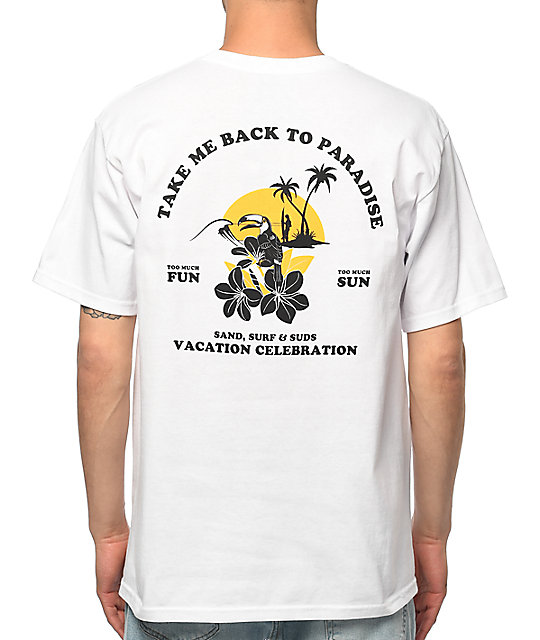 A-Lab Take Me Back camiseta blanca