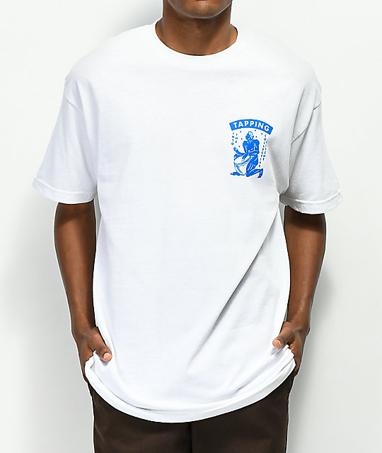 A-Lab Tapped Minds White T-Shirt