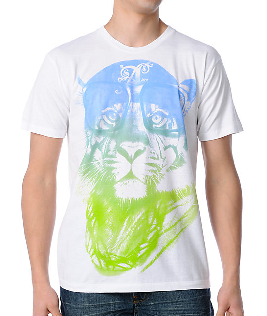 A-Lab Tiger Blood White T-Shirt