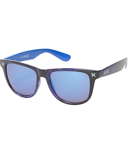 A-Lab We Out Here Galaxy Print Sunglasses