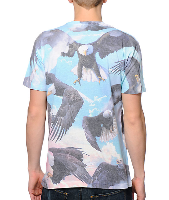 A-Lab Where Eagles Dare Sublimated T-Shirt