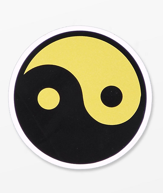 A-Lab Yin Yang Sticker