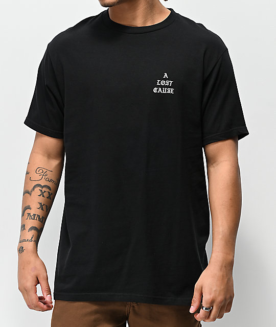 A Lost Cause Crust Black T-Shirt