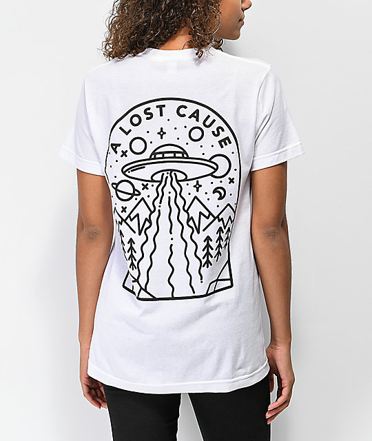 A Lost Cause Welcome White T-Shirt