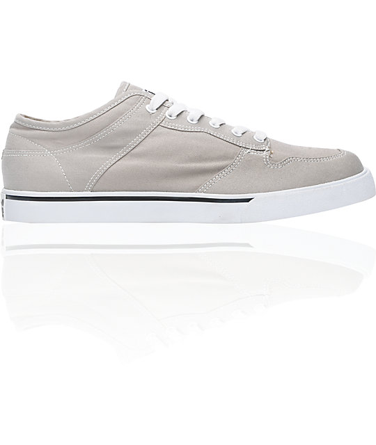 ALIFE Everybody Low Grey Canvas Vegan Shoes