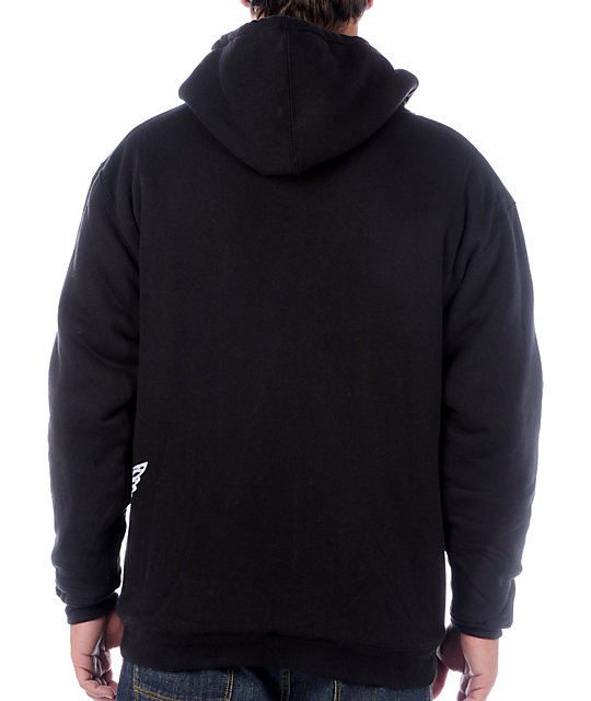 ATM Side Wings Black Hoodie