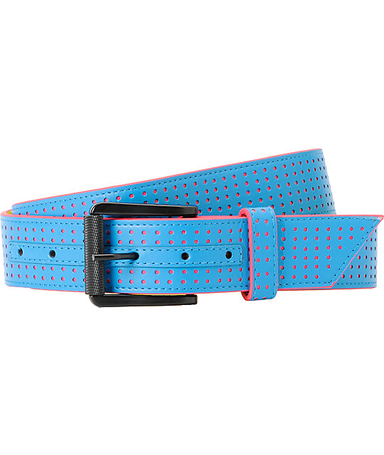 AWSM Techno Blue & Pink Belt