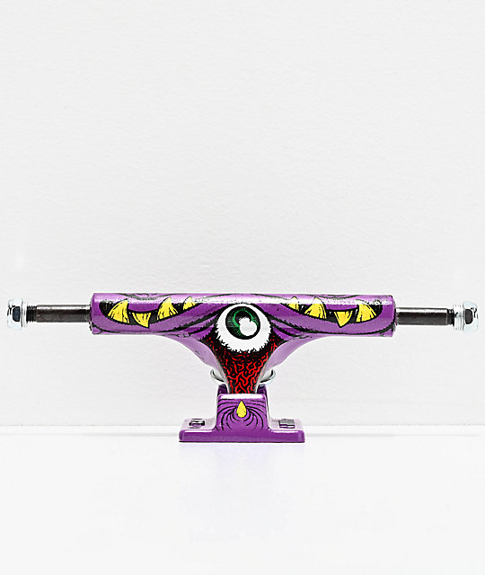 Ace Trucks 33 Purple Coping Eater Skateboard Truck